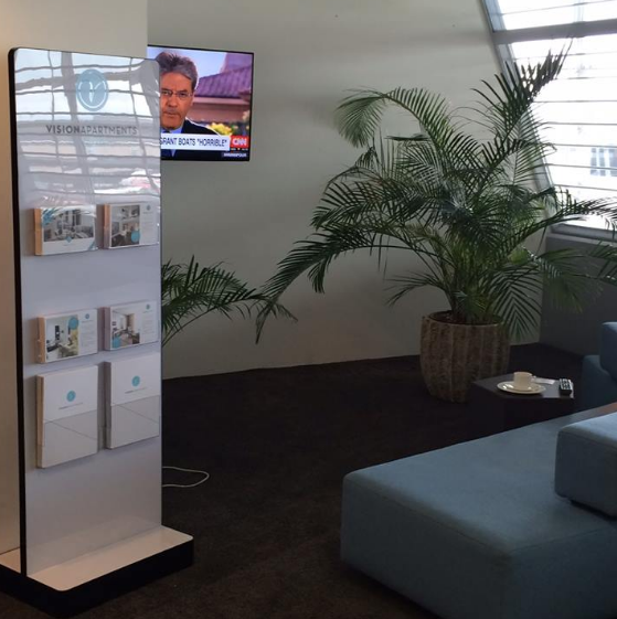 VISIONAPARTMENTS at Zurich Airport Business Lounge
