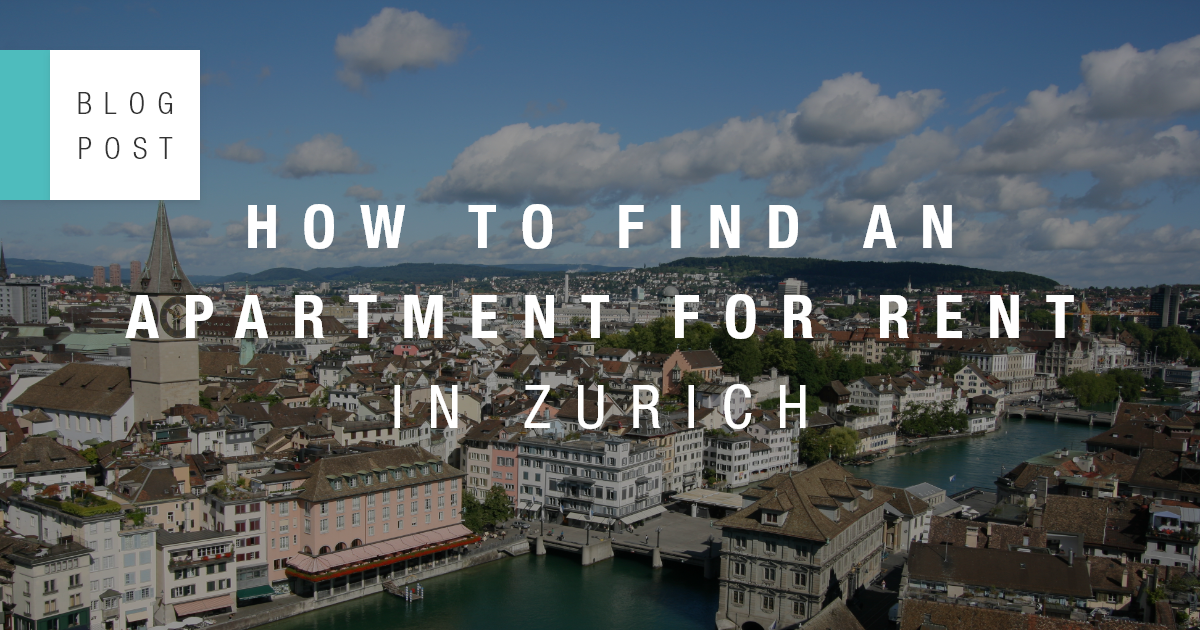 How to find an apartment for rent in Zurich | Blog ...