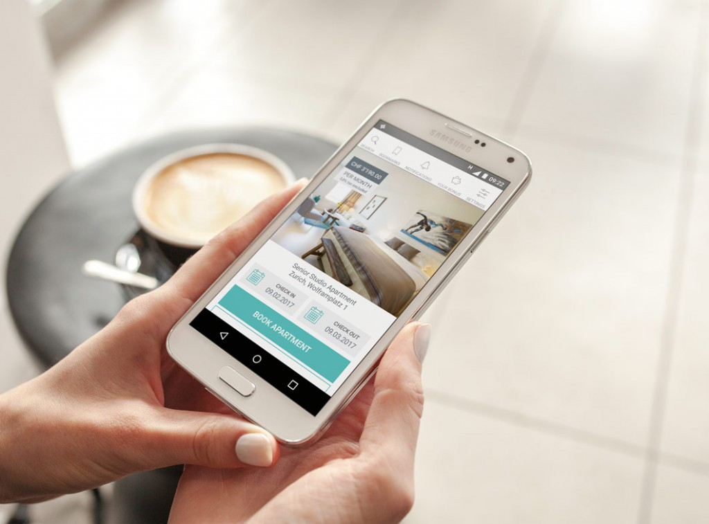 mobile app for apartments rental