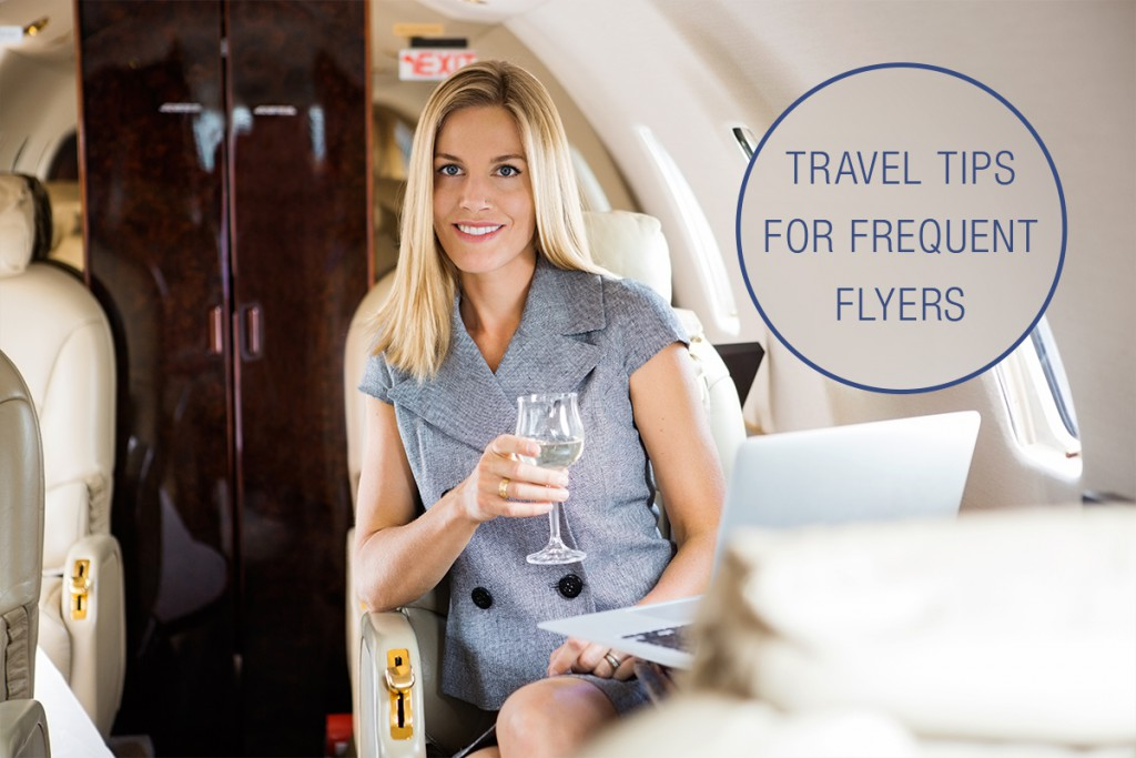 Travel tips for frequent flyers