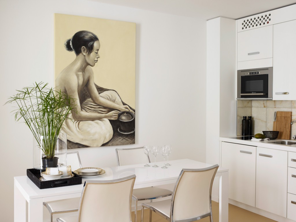 art is the key to a beautiful apartment