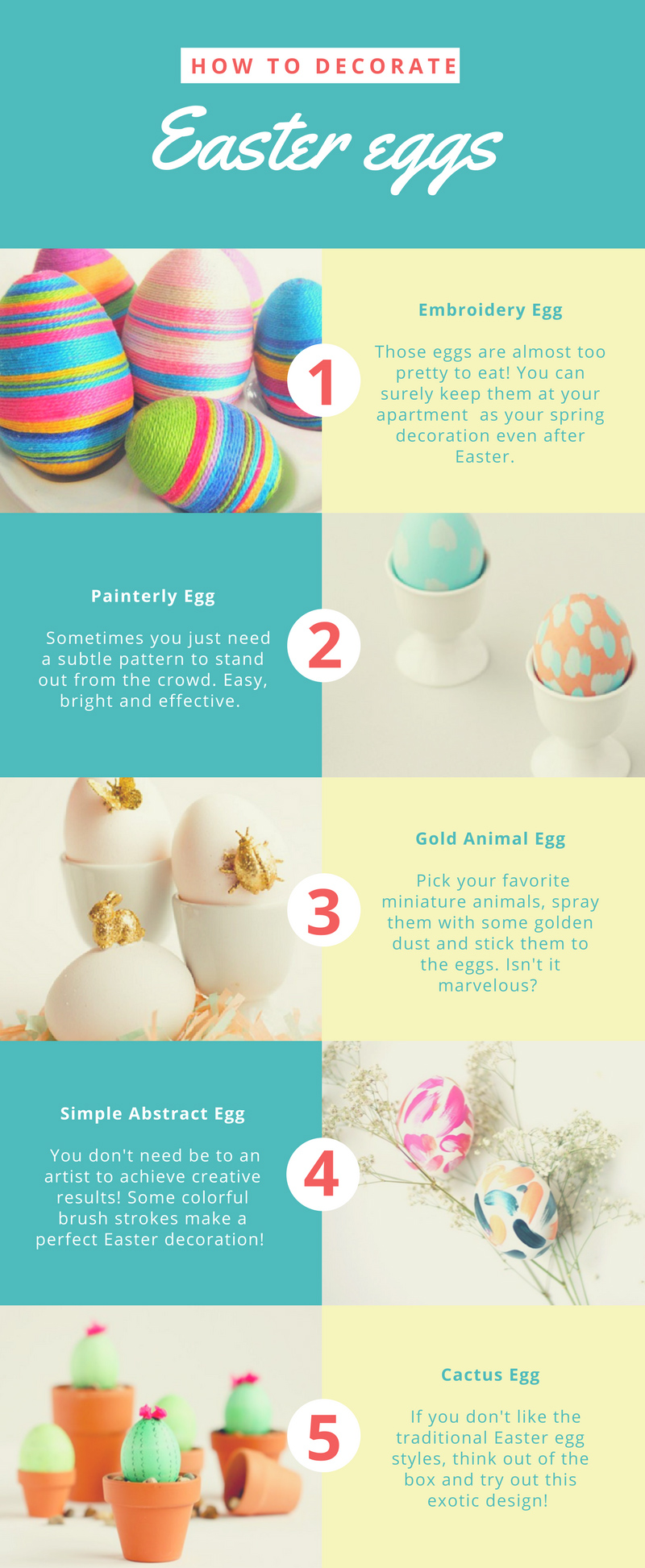 how to decorate easter eggs